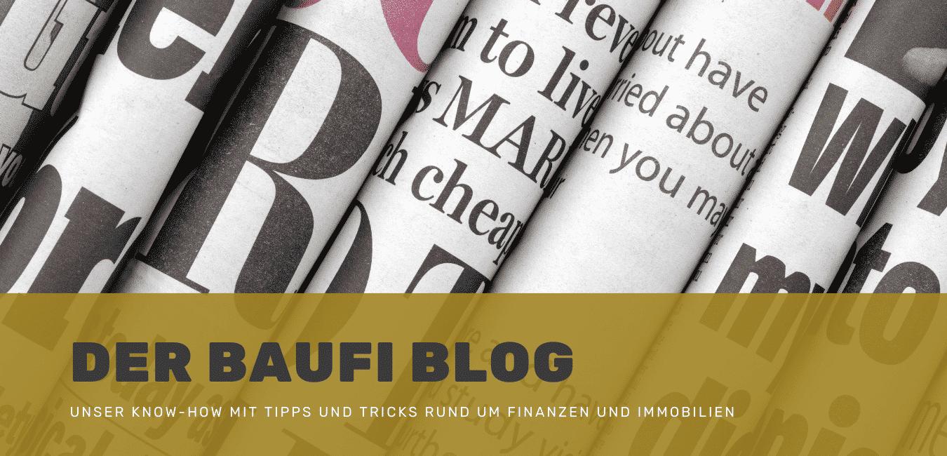 Der Baufi Berater Blog